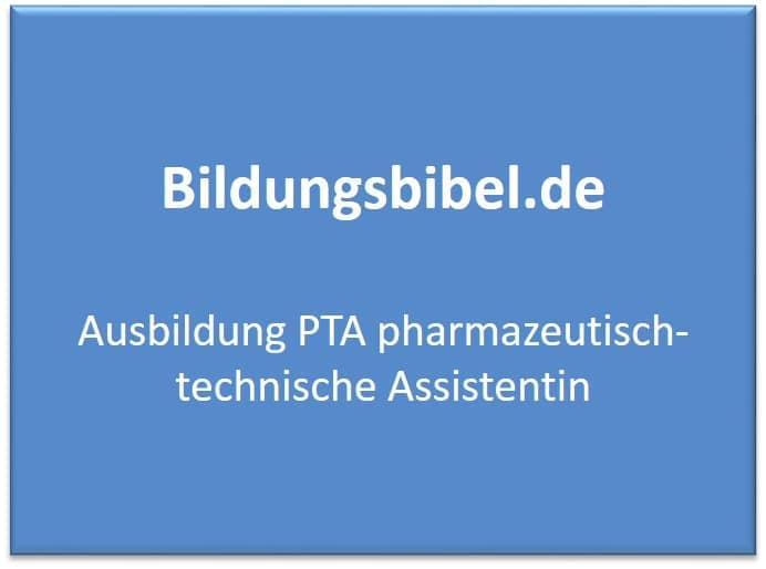 Ausbildung PTA pharmazeutisch-technische Assistentin Voraussetzungen, Gehalt, Inhalt, Dauer
