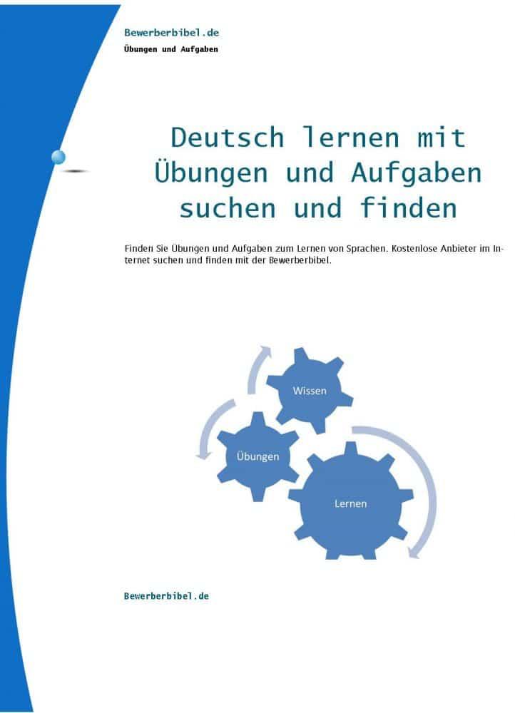 deutsch online lernen deutsch 220bungen kostenlos 252ben