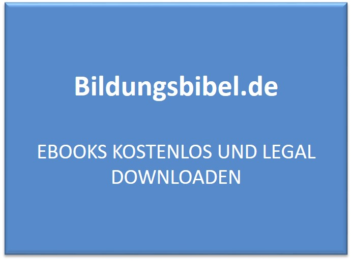 Ebooks kostenlos und legal downloaden
