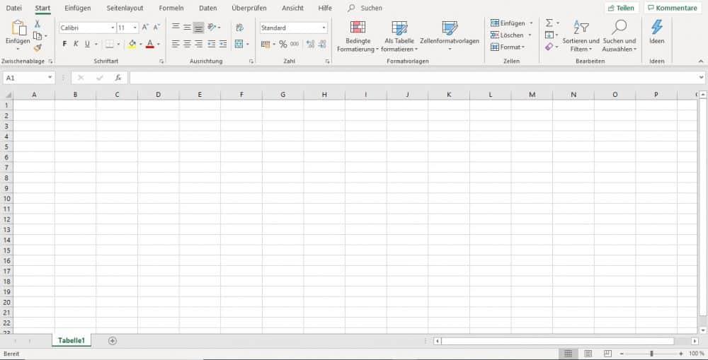Excel Kurs, Training, Grundkurs und Aufbaukurs Inhalte, Tabellenkalkulation