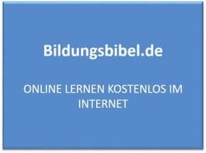 Online lernen kostenlos im Internet