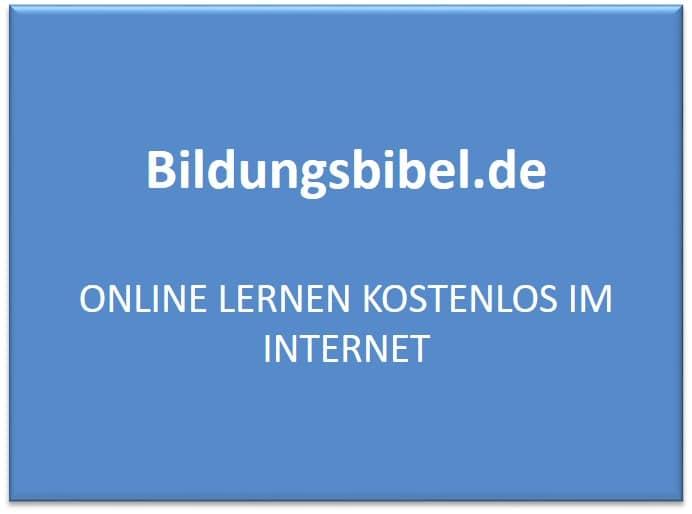 Online lernen, kostenlos im Internet Sprachen, Wirtschaft, Finanzen, IT sowie andere Themen lernen