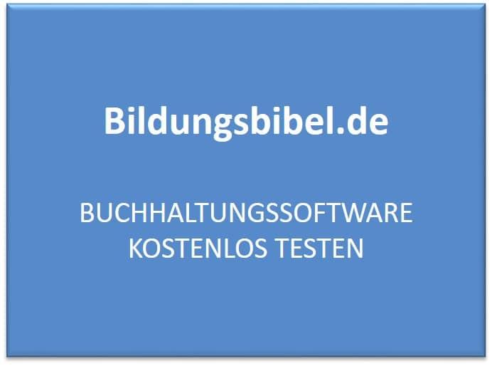 Professionelle Buchhaltungssoftware Vergleich kostenlos testen