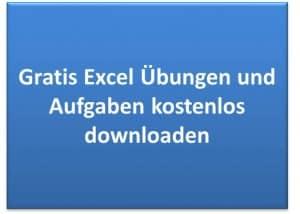 Excel Übungen und Aufgaben kostenlos downloaden - Arbeitsblätter und Übungsblätter gratis.