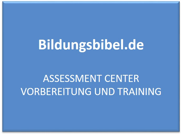 Assessment Center Vorbereitung und Training