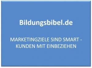 Marketingziele sind SMART - Kunden mit einbeziehen