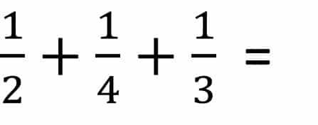 Anleitung Bruchrechnung Beispiel Addition / Plus - Teil 1