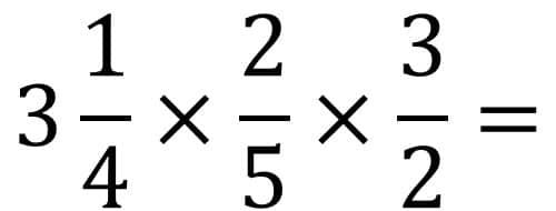 Anleitung Bruchrechnung Beispiel Multiplikation / Mal - Teil 3 - Ganzzahl in unechten Bruch umwandeln