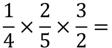 Anleitung Bruchrechnung Beispiel Multiplikation / Mal - Teil 1