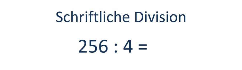 ergebnis der division