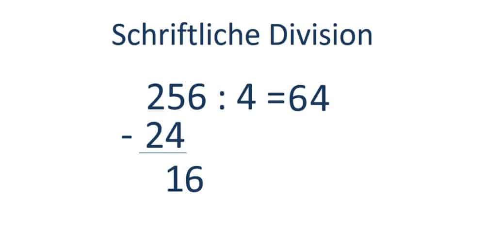 Die schriftliche Division, Teilen, Schritt 4 , Nächste Zahl aus dem Dividenden übernehmen
